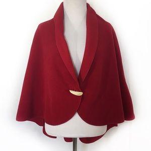 "Kanaka ""Clothing that Comforts""Red Polartec Shawl"
